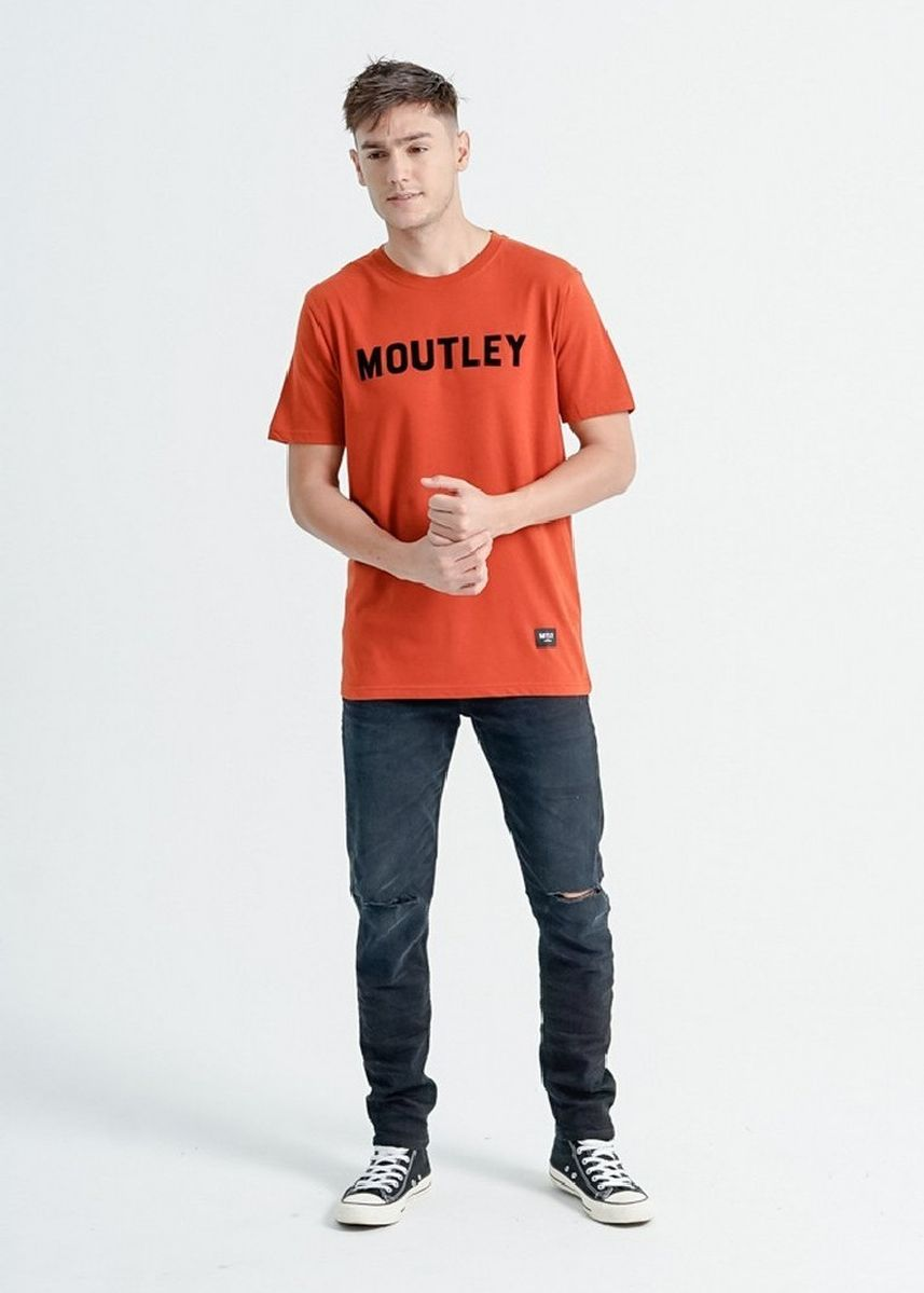 Orange color T-Shirts and Polos . Moutley Men Tshirt 200920 -