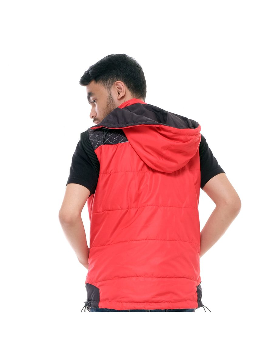 Red color Outerwear . Jaket X Urband Rompi/Vest Unisex A37 Merah New -