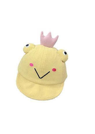 Yellow color Caps . Baby Hat -