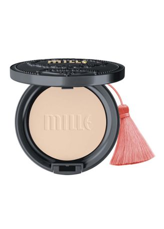 No Color color Face . MILLE CHARCOAL MATTE COVER PACT SPF25 PA++ 11G. 02 #Natural -