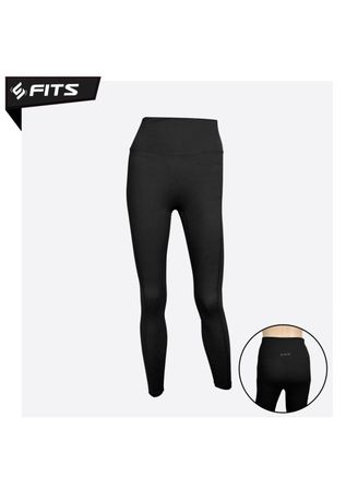 Hitam color Pakaian Olahraga . SFIDN FITS Simplicity Legging High Waist Sport Gym Yoga Pilates #20904 - Hitam -