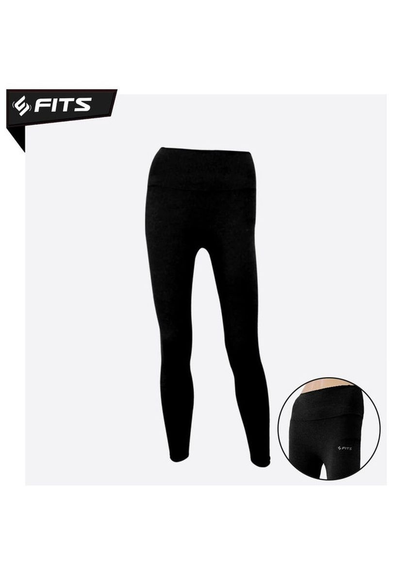Black color Sports Wear . SFIDN FITS Xlara Legging High Waist Sports Gym Yoga Pilates #2080-5 - Hitam -