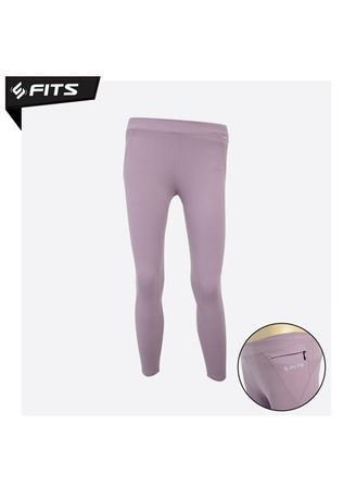 Ungu color Pakaian Olahraga . SFIDN FITS Belle Strappy Legging High Waist Yoga Pilates #2080-17 - Ungu -