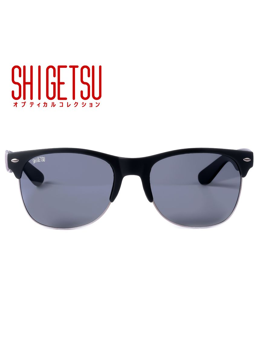 Black color Sunglasses . Shigetsu NOGATA Classic Polarized Anti-Glare Sunglasses -