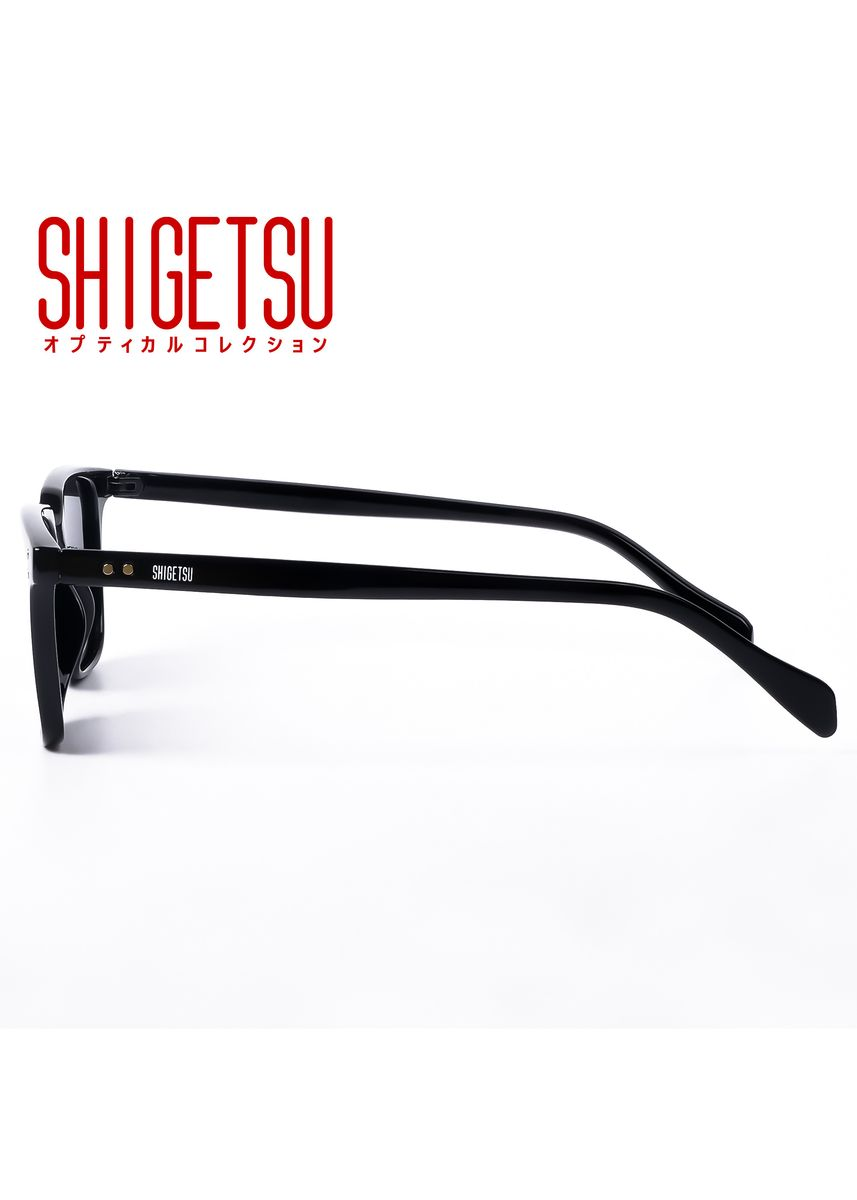 Black color Sunglasses . Shigetsu ECHIZEN Classic Polarized Anti-Glare Sunglasses -