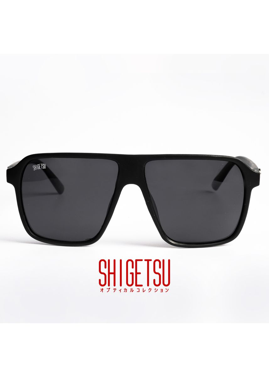Black color Sunglasses . Shigetsu ITOSHIMA Classic Polarized Anti-Glare Sunglasses -