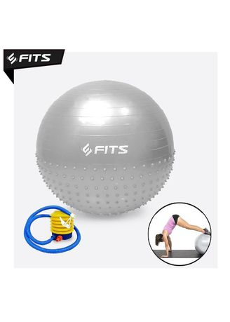 No Color color Accessories . SFIDN FITS Gymnastic Pilates Yoga Ball Massage Point 65 cm Gym Ball - Grey -