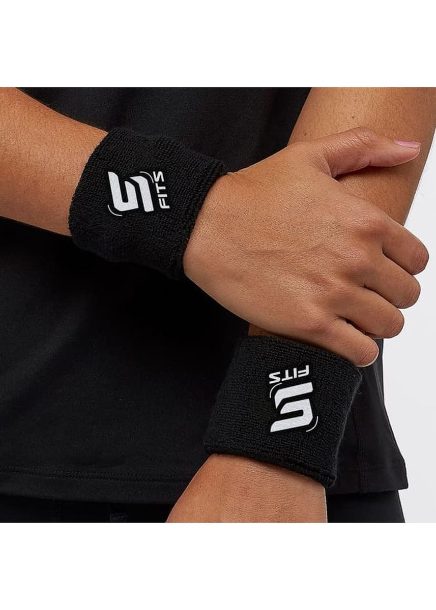 No Color color Accessories . SFIDN FITS Wristband / Wrist Band / Wrist Wallet /Deker Sport Olahraga - Hitam -