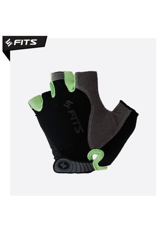 No Color color Accessories . FITS Gloves Flux Sarung tangan Tanpa Jari Gym Fitnes Berkendara - Hijau, M -