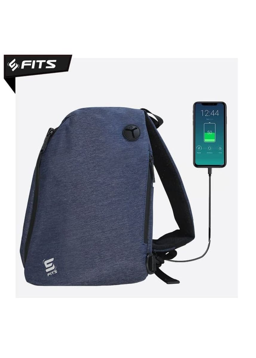 No Color color Accessories . SFIDN FITS LockDown Sling Bag / Backpack Tas Selempang - Navy -