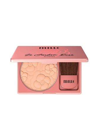 No Color color Set & Palette . MILLE LE JARDIN ROSE BLUSHER 11G. 07 Monique -