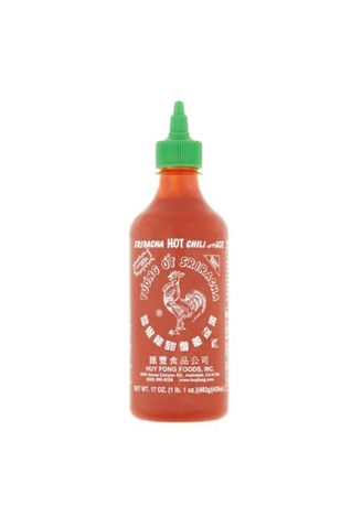 No Color color Hot Sauce . Huy Fong Sriracha Hot Chili Sauce, 17oz. -