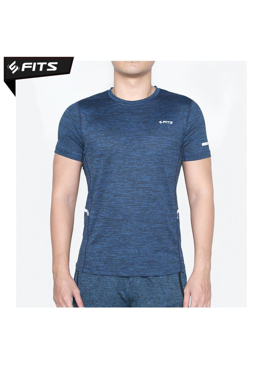 Biru color Pakaian Olahraga . SFIDN FITS Threadarmor Infused Baju Kaos Fitnes Training Olahraga - Biru -