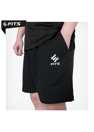 Black color Sports Wear . SFIDN FITS Threadcomfort Luxury Celana Pendek Olahraga Gym Fitness -