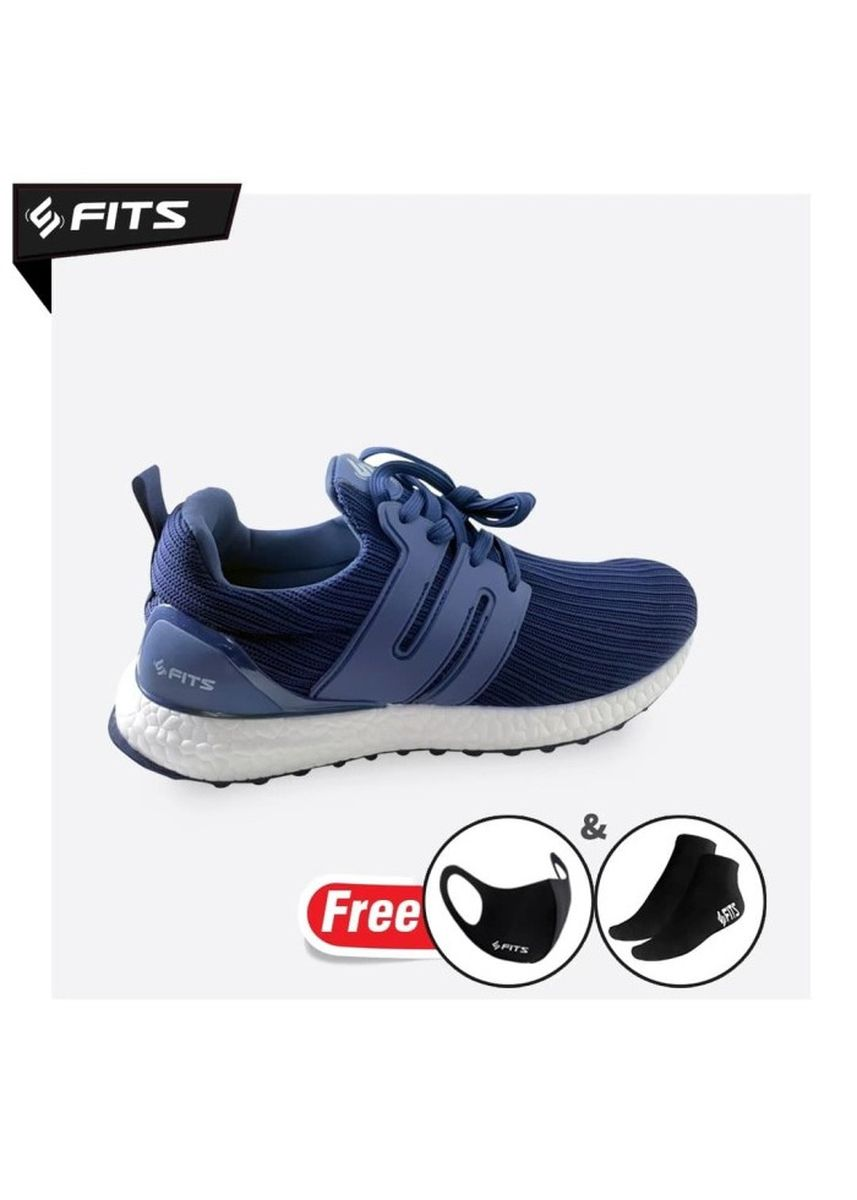 Navy color Sports Shoes . SFIDN FITS Cloudwalker Series Sepatu Pria Casual Sneaker Running Shoes - Navy -