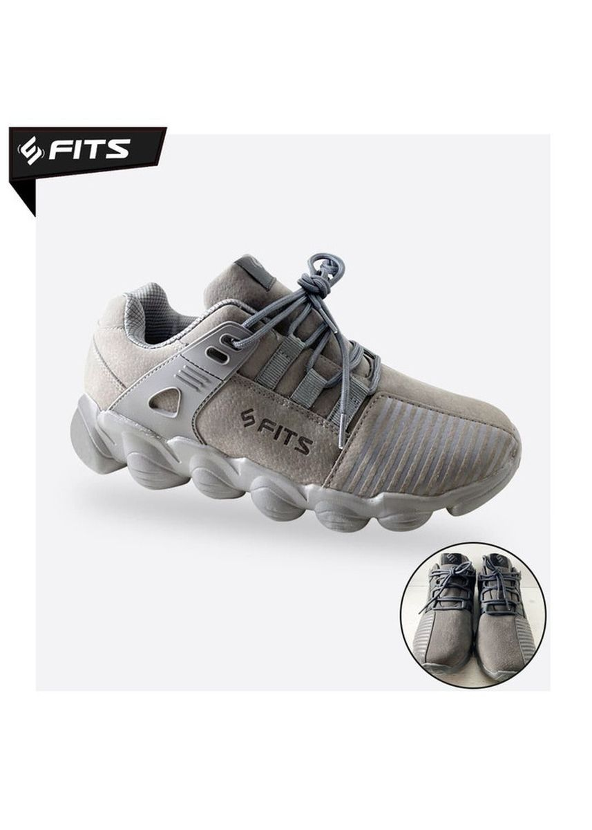 Grey color Sports Shoes . SFIDN FITS Endurance Sepatu Casual Sneakers Lari Shoes - Abu -