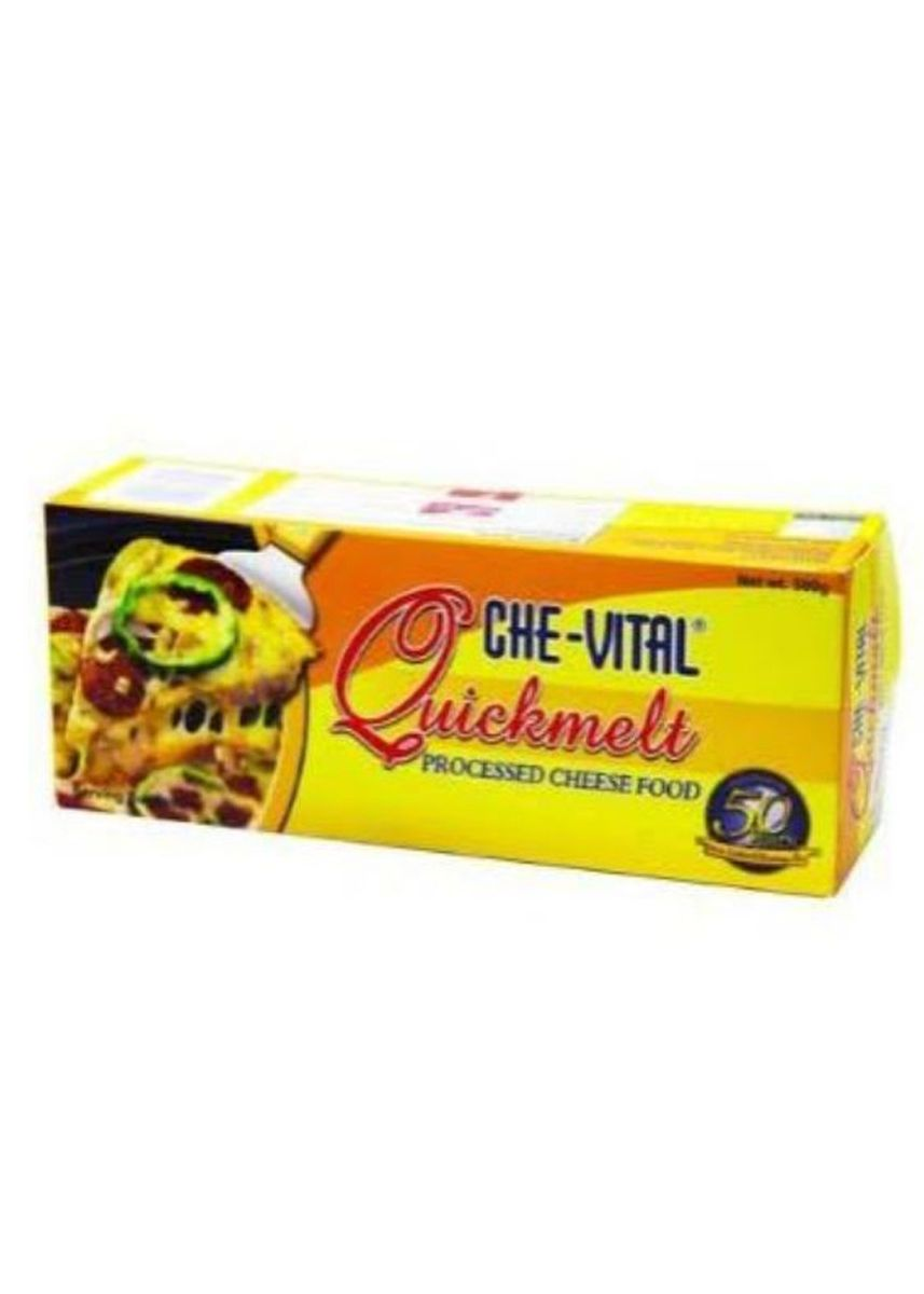 No Color color Cheese . Che-Vital Quickmelt Cheese, 1kg -