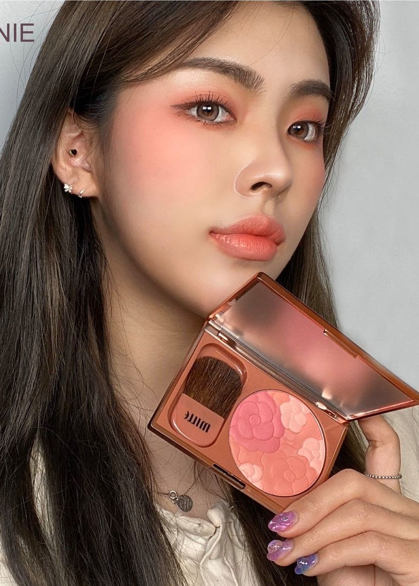 No Color color Set & Palette . MILLE LE JARDIN ROSE BLUSHER 11G. 06 Peonie  (สีพิเศษ) -