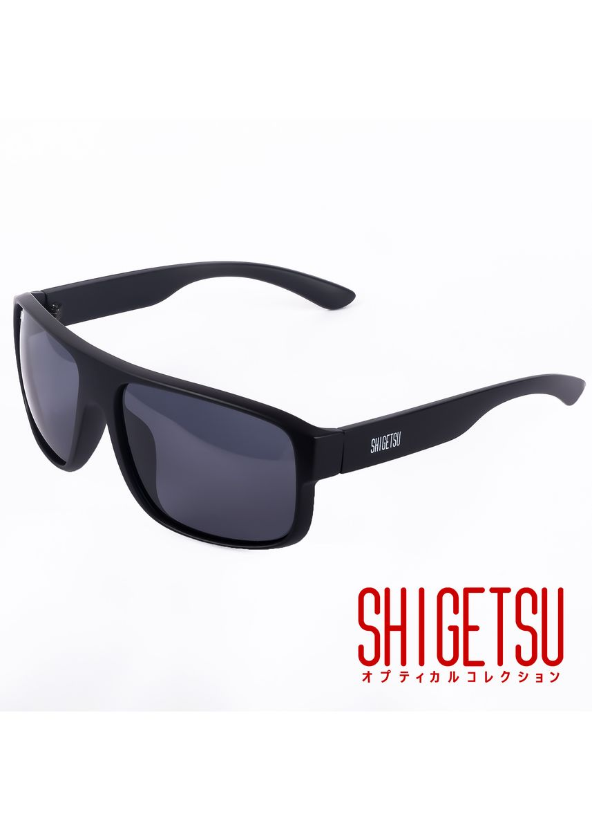 Black color Sunglasses . Shigetsu NAKAMA Classic Polarized Sunglasses for Men / Acetate Frame -
