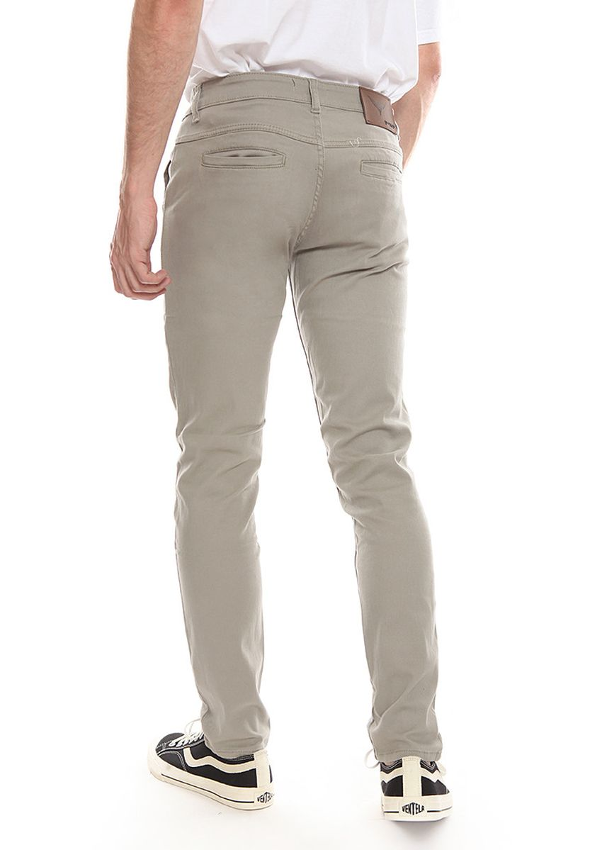 Cokelat color Celana Panjang Kasual . 2Nd RED Celana Pria Slim Fit Chinos Premium Quality Warna Light Brown 115522 -