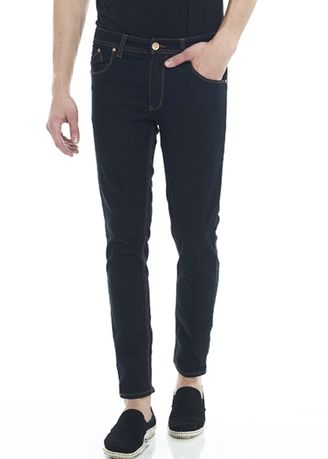 Black color Jeans . 2Nd RED Jeans Pria Slim Fit Felix  JS3279 -