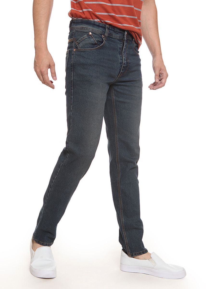 Abu-Abu color Celana Jeans . 2Nd RED Jeans Slim Fit Premium JH1911 -