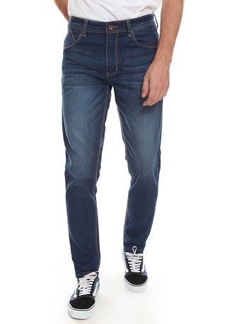 Blue color Jeans .  2nd Red 2Nd RED Celana Jeans Slim Fit JS1923 -