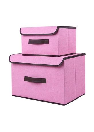 Red color Storage . RADYSA Storage Box Penyimpanan 2in1 Multifungsi ( RANDOM TIDAK PILIH WARNA ) -