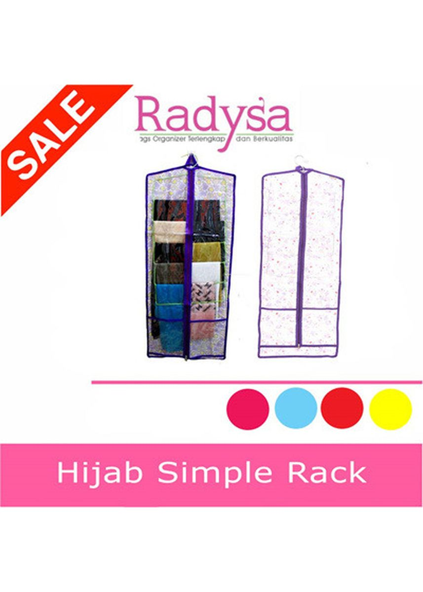 Light Blue color Storage . RADYSA Hijab Simple Rack Organizer ( HSR ) -