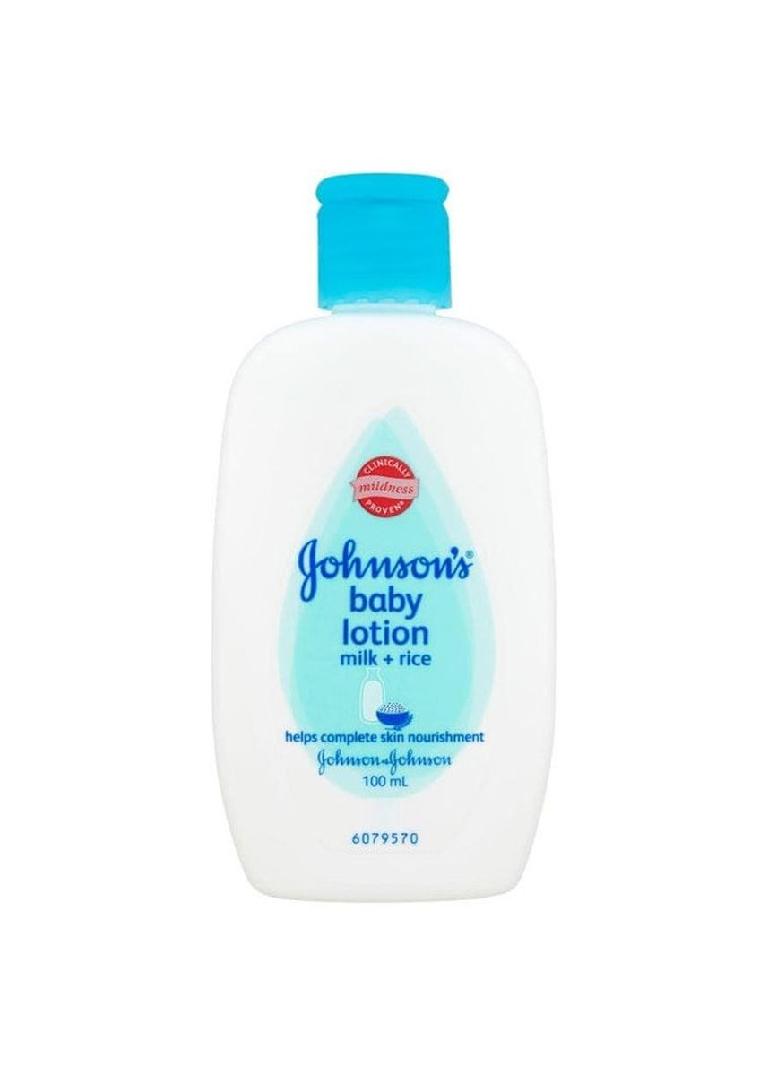 Tidak Berwarna color Krim & Minyak Bayi . Johnson's Baby Baby Lotion Milk + Rice 100 ml -