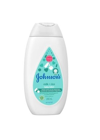 Tidak Berwarna color Krim & Minyak Bayi . Johnson's Baby Baby Lotion Milk + Rice 200 ml -