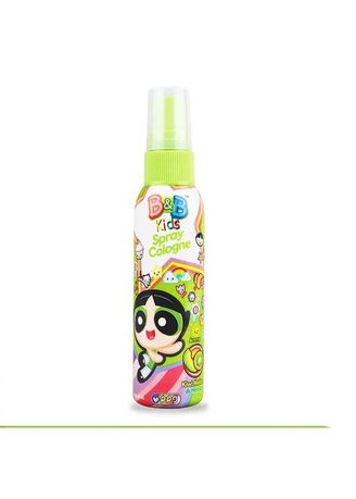 No Color color Body Cream & Oil . B&B Kids Spray Cologne 100ml Botol - Powerpuff Girl Edition - Kiwi Melon -