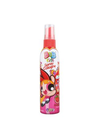 No Color color Body Cream & Oil . B&B Kids Spray Cologne 100ml Botol - Powerpuff Girl Edition - Strawberry -