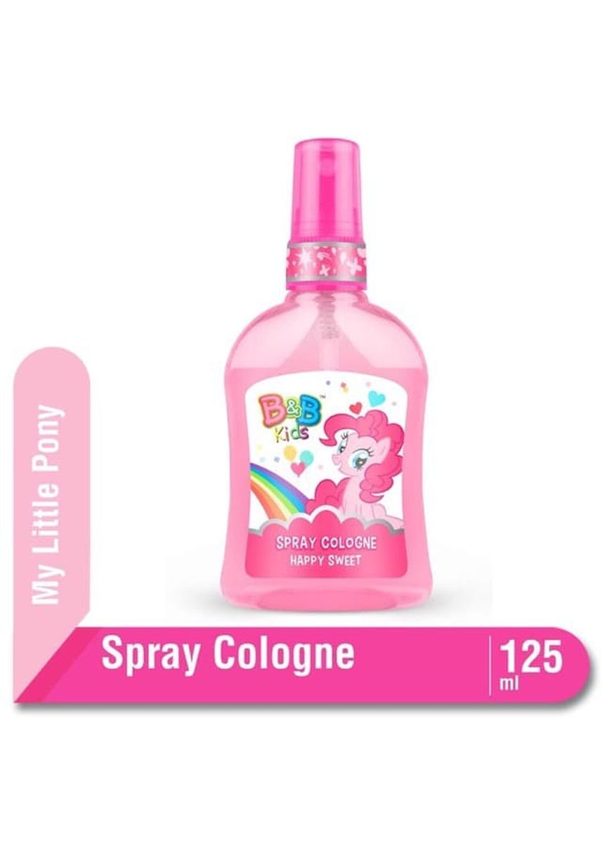 No Color color Body Cream & Oil . B&B Kids Spray Cologne 100ml Botol - My Little Pony Edition - Happy Sweet -