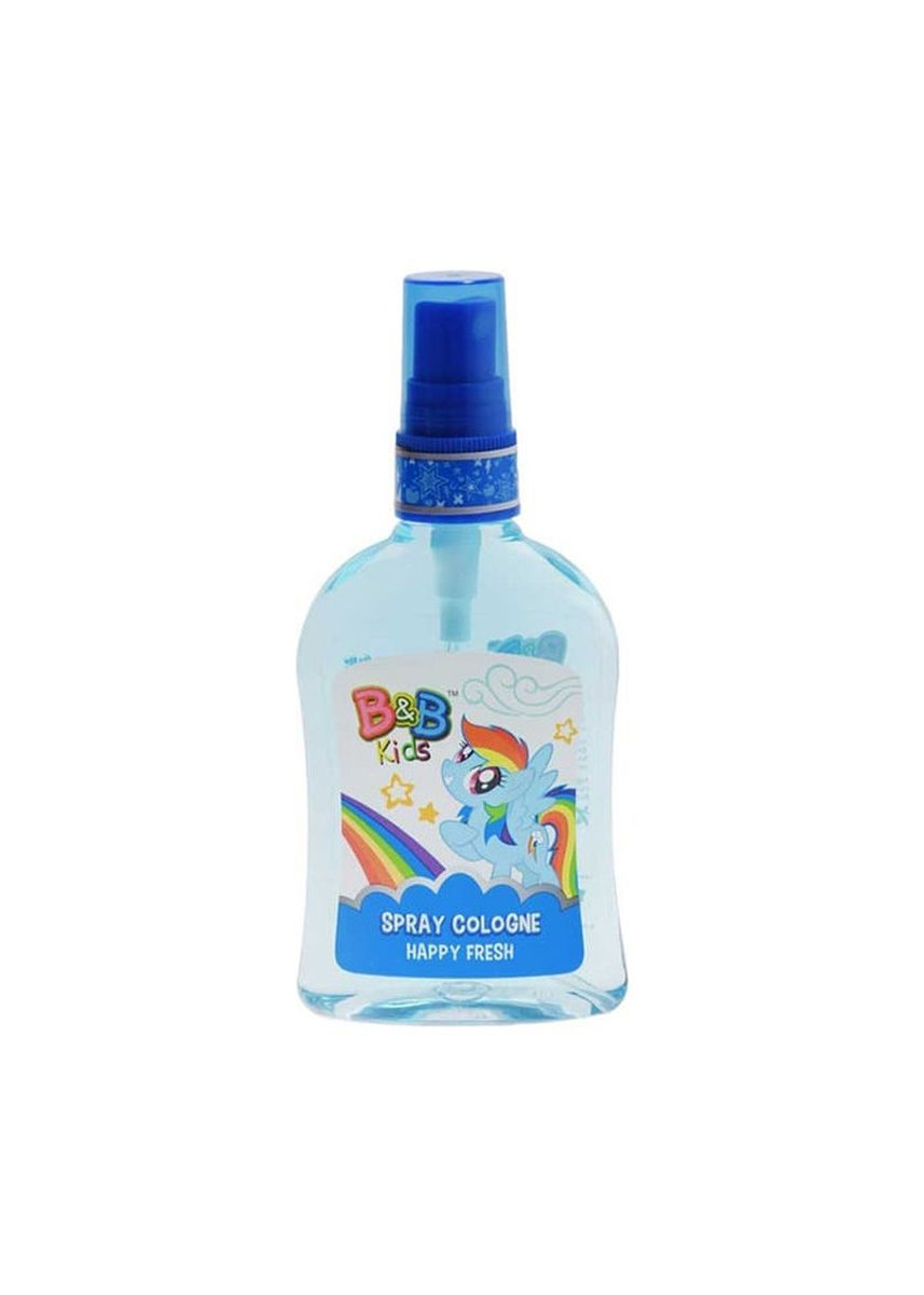 Tidak Berwarna color Krim & Minyak Bayi . B&B Kids Spray Cologne 100ml Botol - My Little Pony Edition - Happy Fresh -