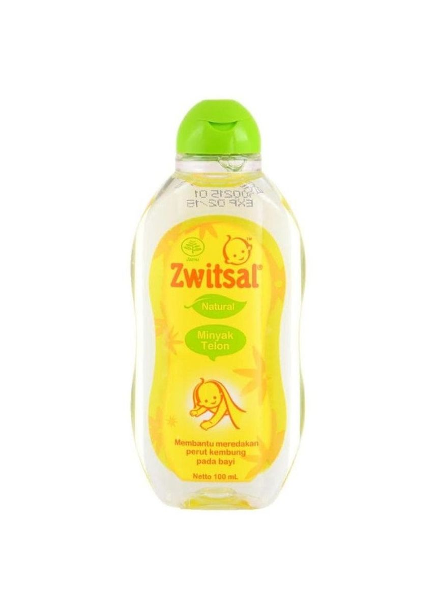 No Color color Body Cream & Oil . ZWITSAL BABY NATURAL MINYAK TELON BAYI 100ML -
