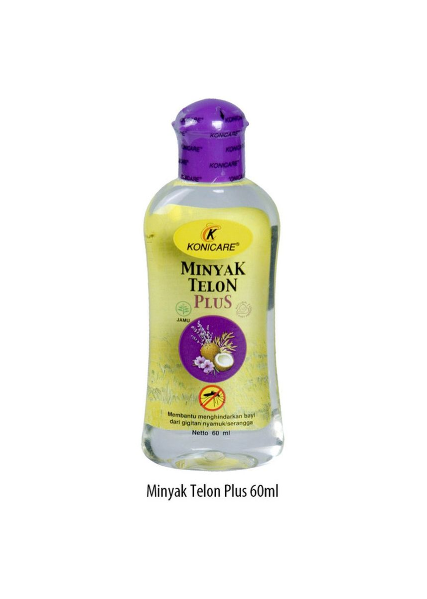 No Color color Body Cream & Oil . KONICARE MINYAK TELON PLUS ANTI NYAMUK TUTUP UNGU LAVENDER 60 ML -
