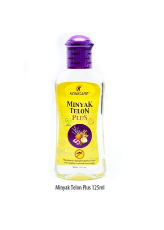 No Color color Body Cream & Oil . KONICARE MINYAK TELON PLUS ANTI NYAMUK TUTUP UNGU LAVENDER 125 ML -