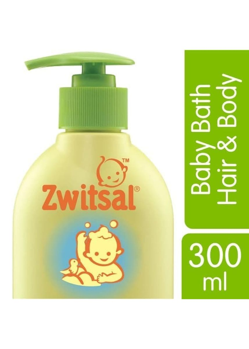 No Color color Body Wash . Zwitsal Baby Bath 2in1 Hair & Body Natural Aloe Vera 300ml Sabun Sampo -
