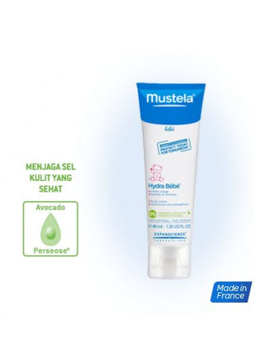 Tidak Berwarna color Sampo Bayi . Mustela Bebe 2in1 Hair & Body Wash Sabun Shampoo Bayi 200ML -