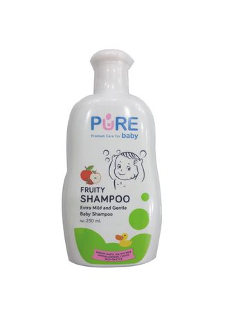 No Color color Hair Wash . Pure Baby Shampoo Bayi Fruity 230ml -