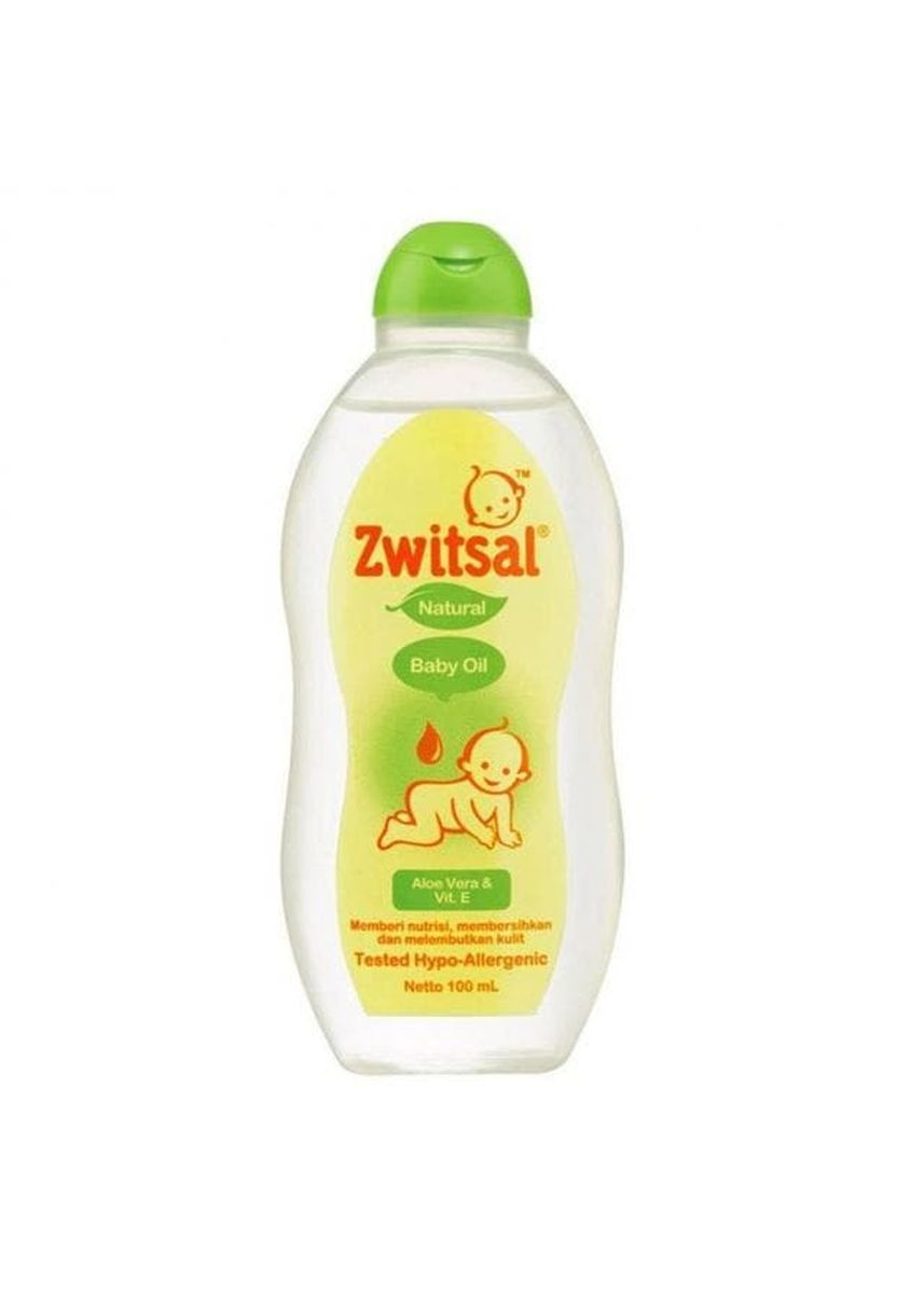 No Color color Body Cream & Oil . Zwitsal Baby Oil Natural 100ml Minyak Pijat Bayi -