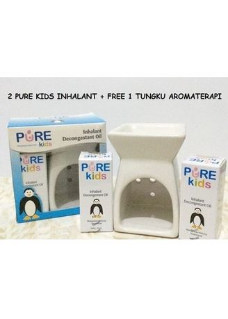 No Color color Body Cream & Oil . PURE KIDS INHALANT DECONGESTANT OIL PAKET TUNGKU AROMATERAPI ANAK -