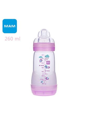 Ungu color Botol Susu . Mam Baby Bottle Anti Colic Botol Susu Bayi 260ml -