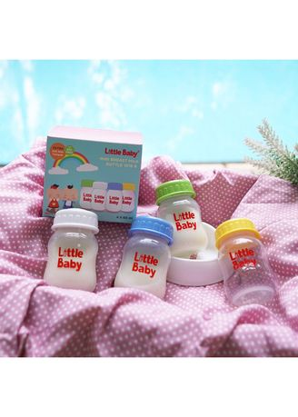 Multi color Feeding Bottle . Little Baby Breastmilk Storage Bootle / Botol Asi 60ml 4in1 -