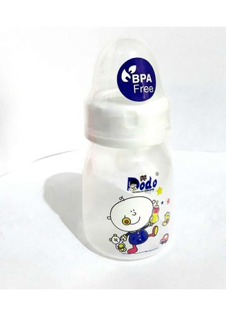 White color Feeding Bottle . DODO Bottle PP Eko/ Botol Susu Bayi [2 OZ - 60ml] -