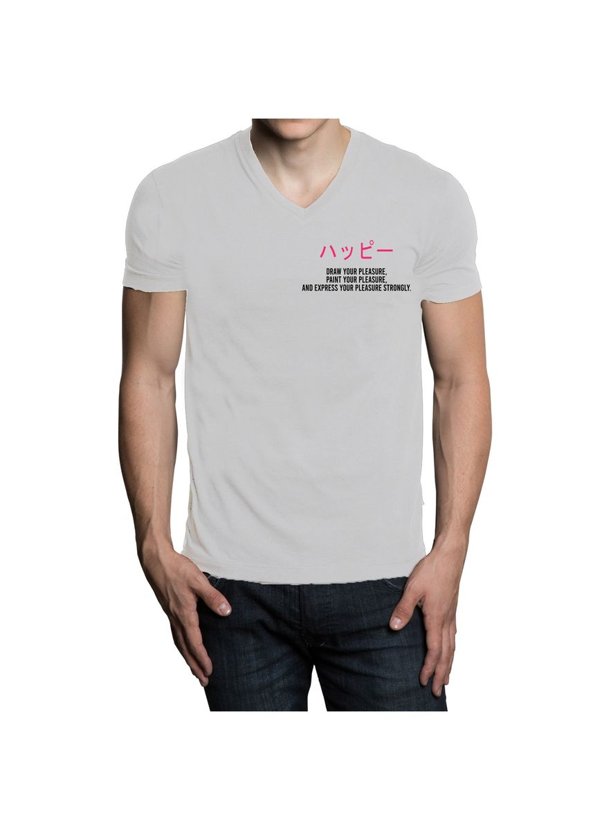 Putih color  . AVANTIC CHAPTER I AC028 SPECIAL T-SHIRT BRAND LAUNCHING -