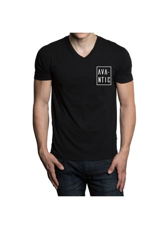 Hitam color  . AVANTIC CHAPTER I AC032 SPECIAL T-SHIRT BRAND LAUNCHING -