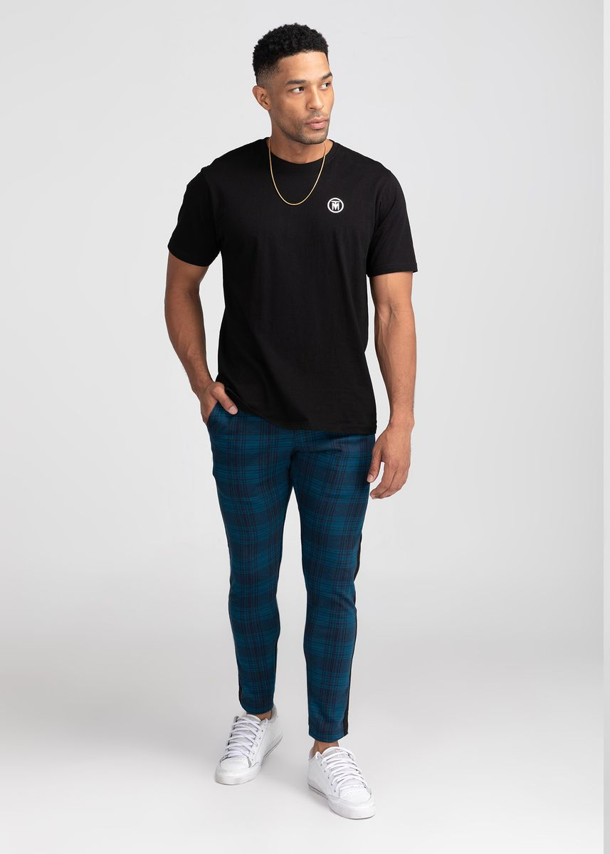 Cyan color Casual Trousers and Chinos . TMAC™ Teal Trousers -