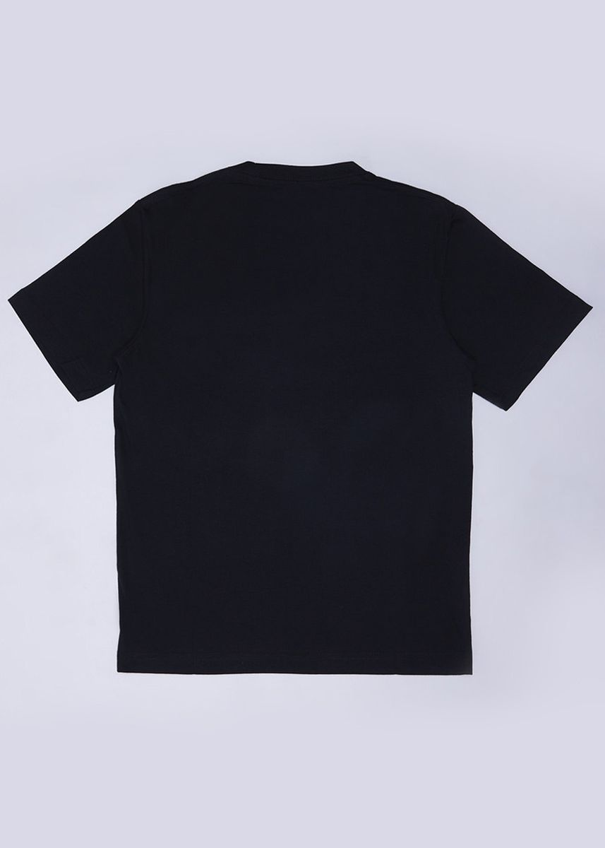 Black color Tops . POLICE Kids Tshirt Cotton Combed  -